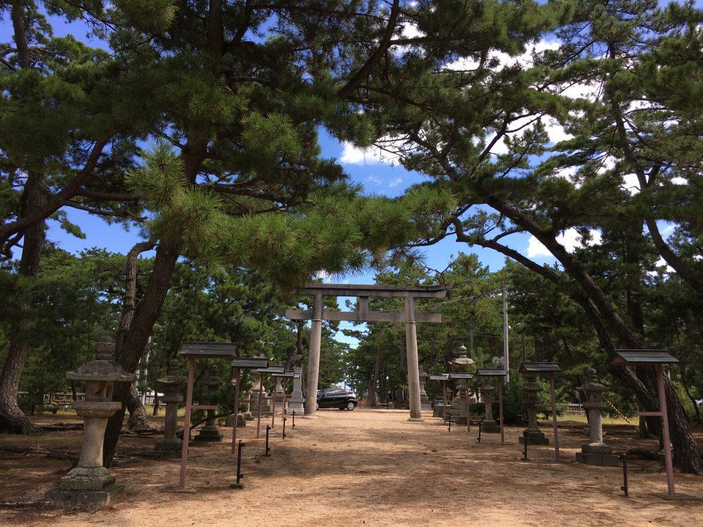 津田の松原大清水神社
