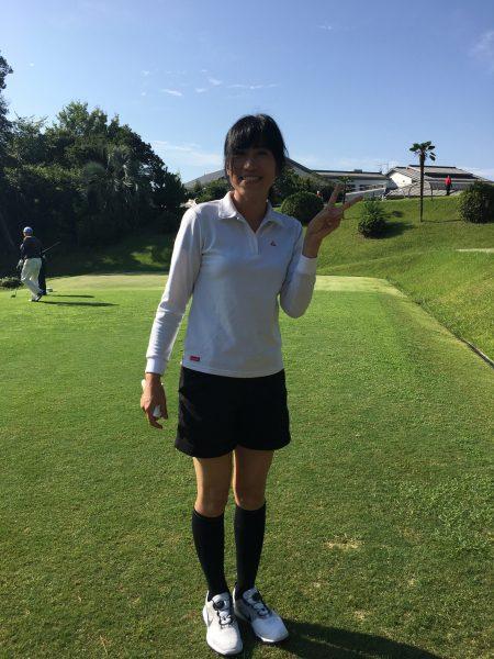 法隆寺カントリーでゴルフ