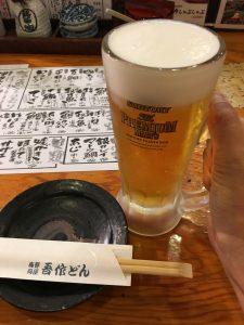 セミナー後のビール