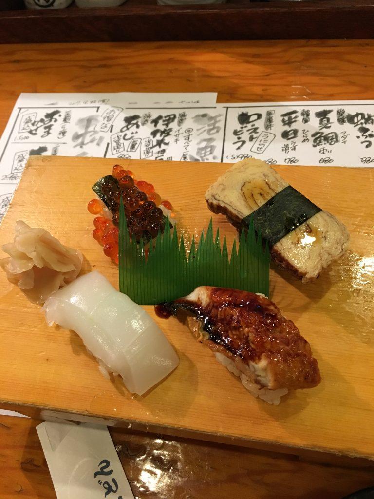 吾作どん握り寿司
