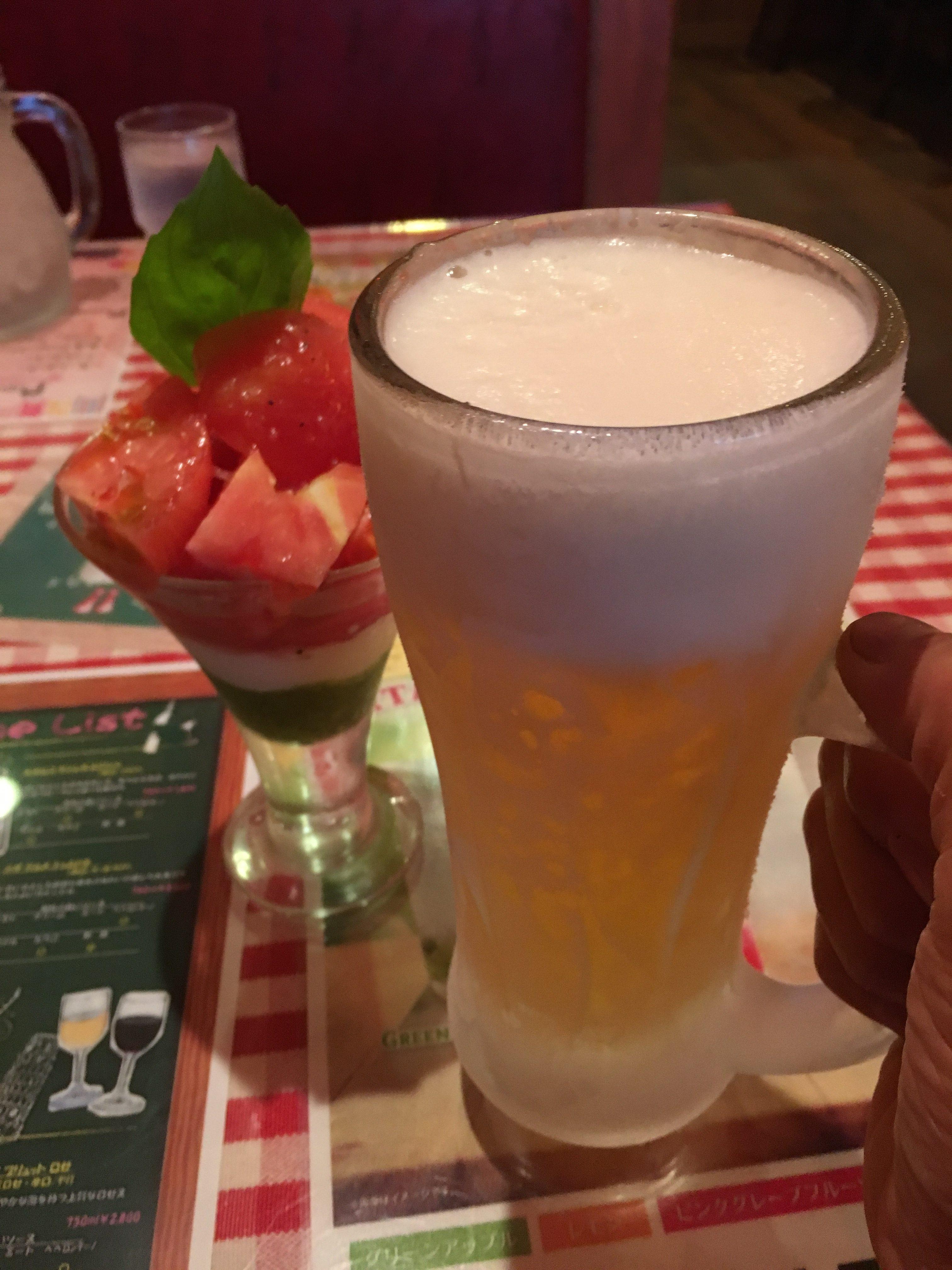 辛いビール
