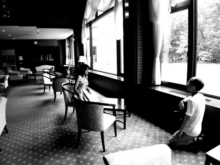 安曇野ホテルで撮影