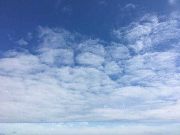 津田の松原の空