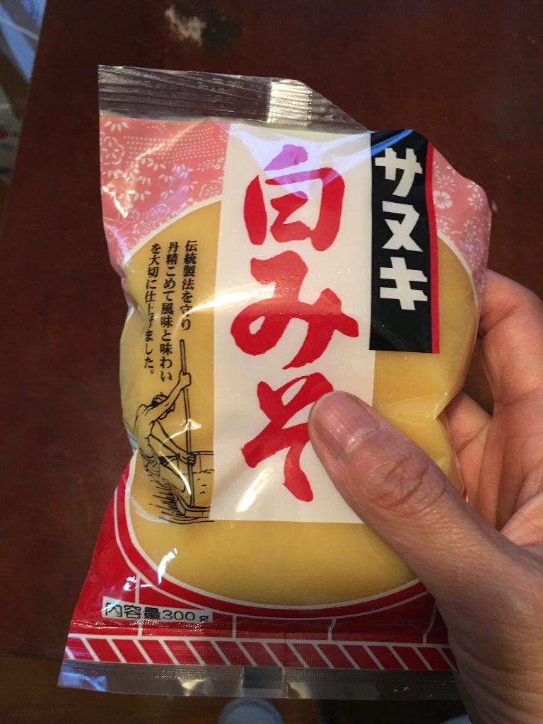 さぬきで買った白味噌