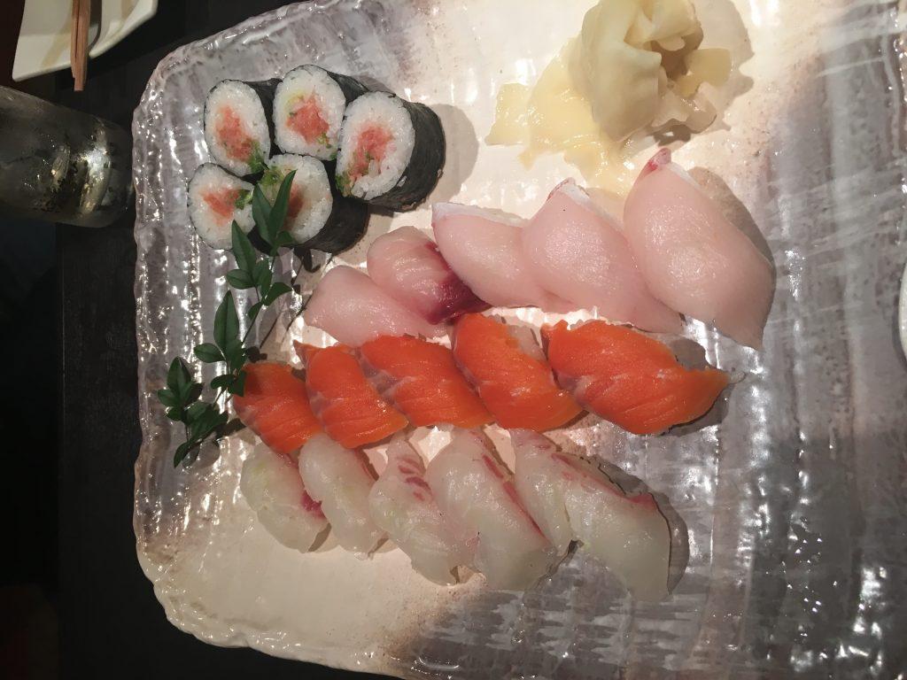懇親会のお寿司