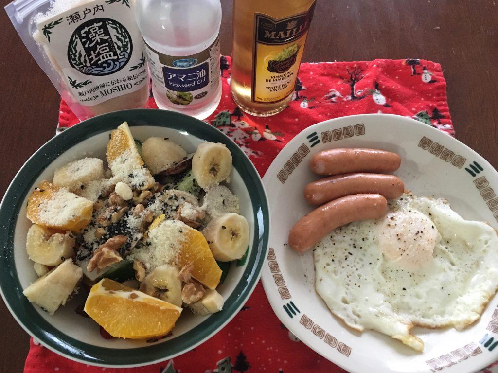朝のパワーサラダ