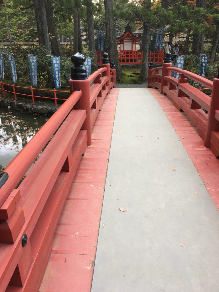 金剛峯寺の橋