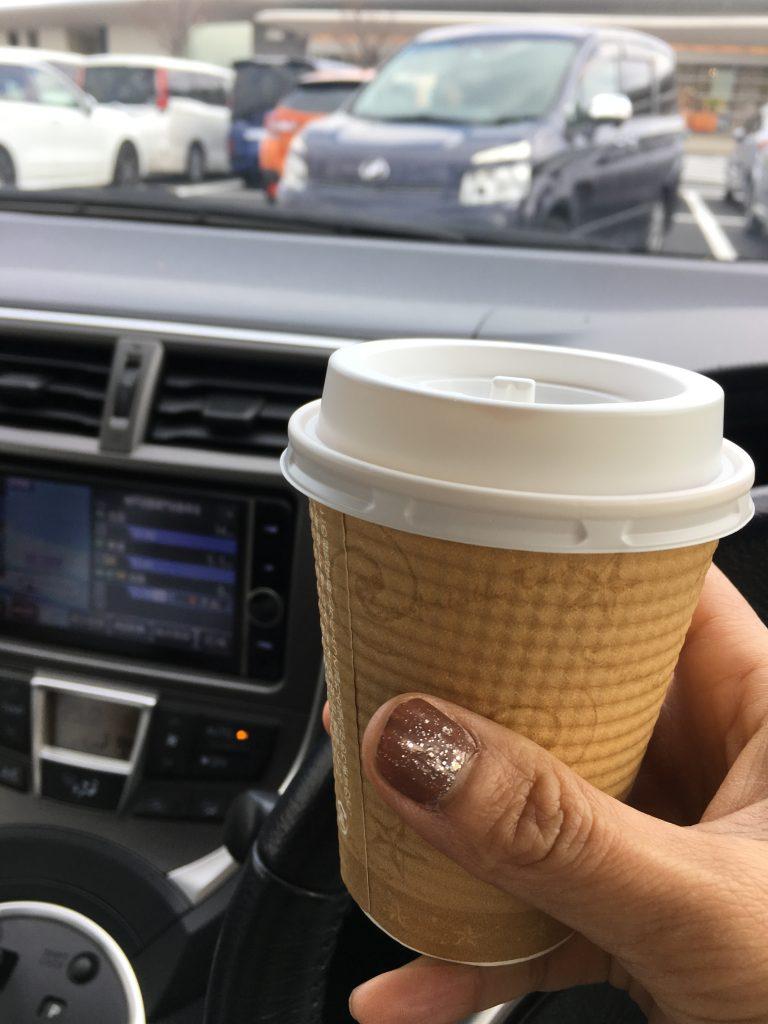 淡路SAでコーヒー