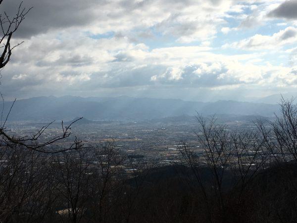 二上山からの景色
