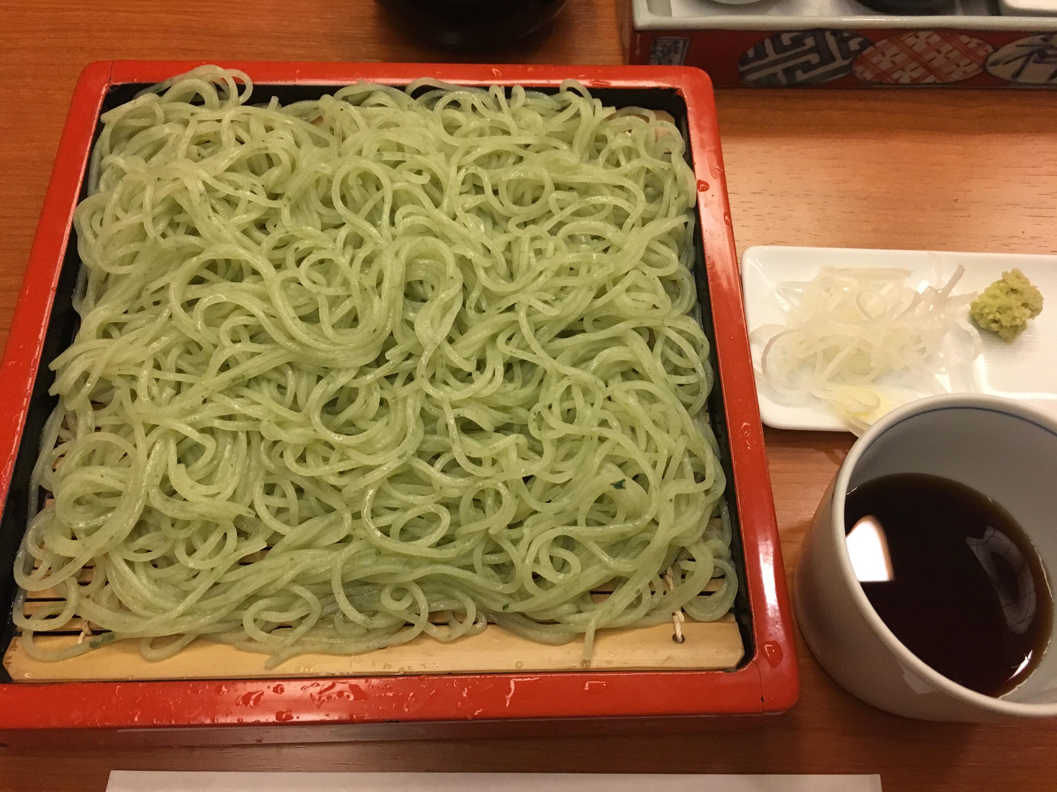 更科堀井のお蕎麦