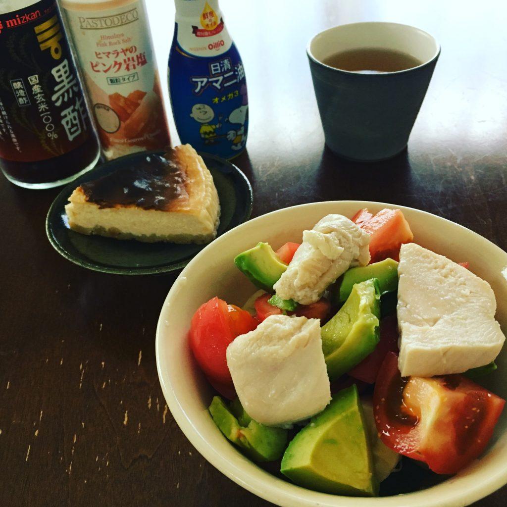 朝ごはんサラダ