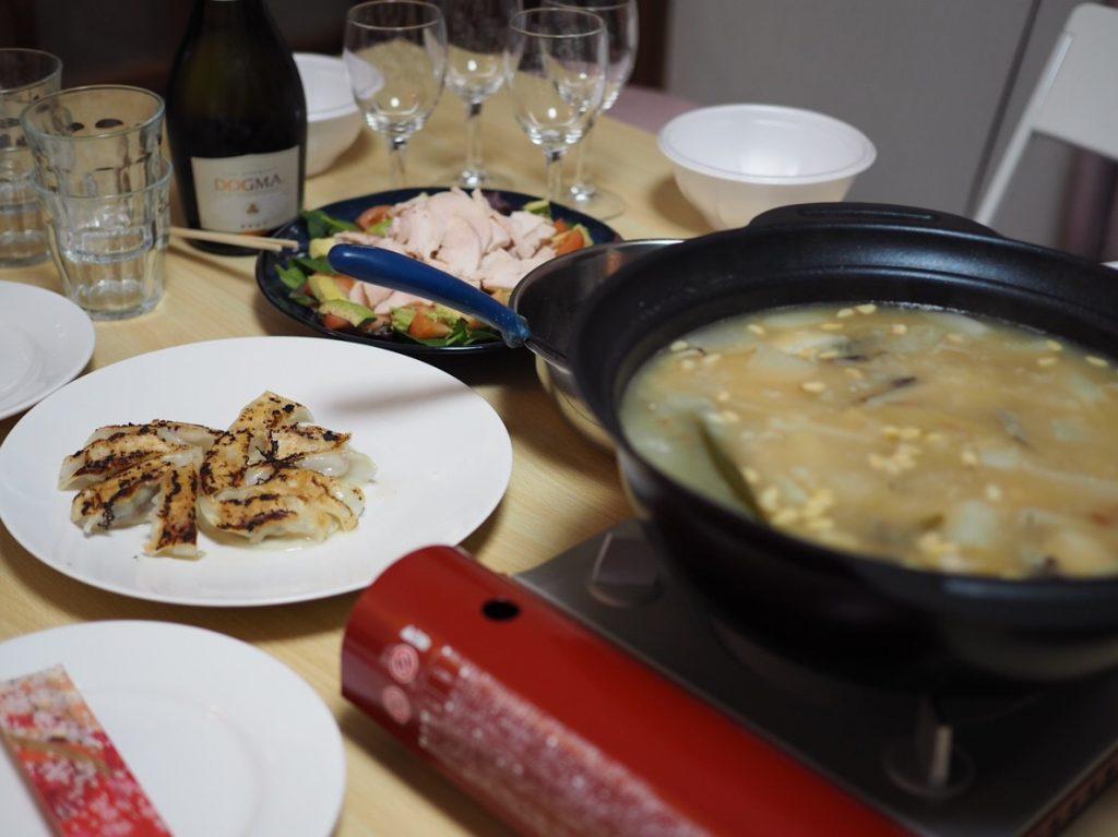 餃子と参鶏湯