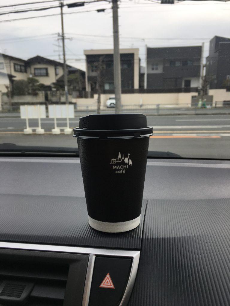 コンビニでコーヒー