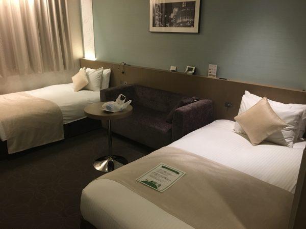東京銀座のホテル