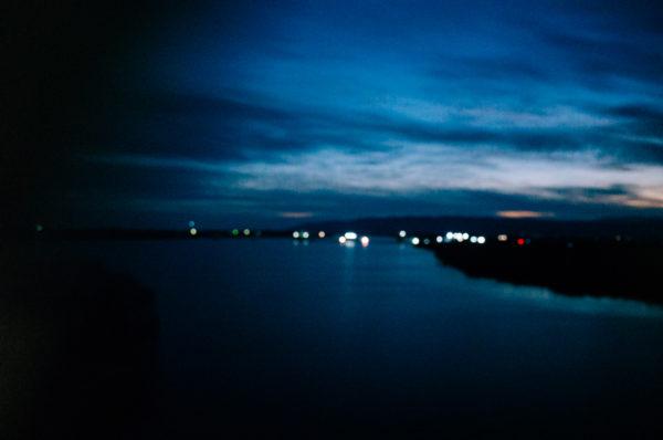 新幹線からの風景